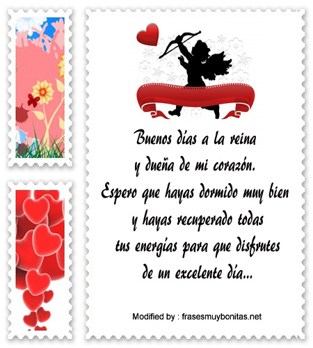 Lindos Mensajes De Buenos Días Para Tu Amor Saludos De Buen Dia A