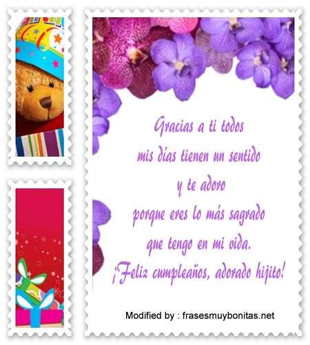 saludos y dedicatorias de cumpleaños para mi hijo,mensajes de cumpleaños para mi hijo para facebook