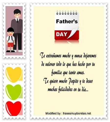 originales frases para el dìa del Padre para compartir en facebook