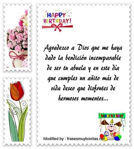 Lindos Mensajes De Cumpleaños Para Tu Nieta Saludos De Cumpleaños