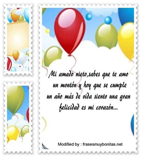 Compartir Mensajes De Cumpleaños Para Mi Nieto Saludos De
