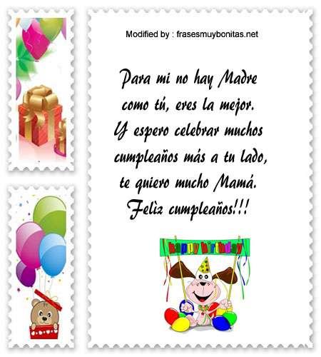 Nuevos Mensajes De Cumpleaños Para Mamá Poemas De Cumpleaños Frasesmuybonitas Net