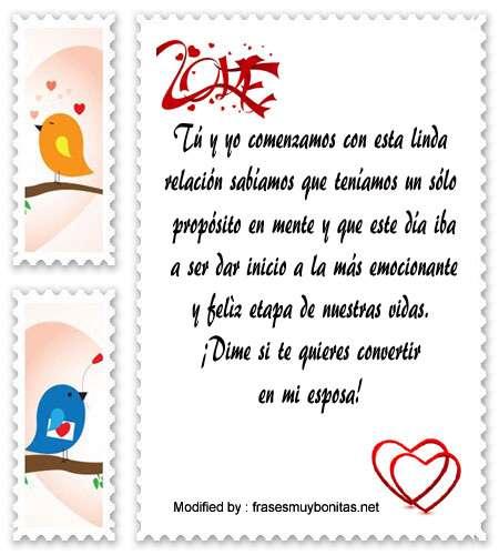 Buscar Mensajes Románticos Para Proponer Matrimonio Frases