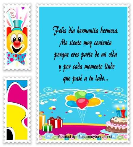 enviar mensajes de feliz cumpleaños por whatsapp a mi hermana,enviar saludos de feliz cumpleaños al facebook mi hermana