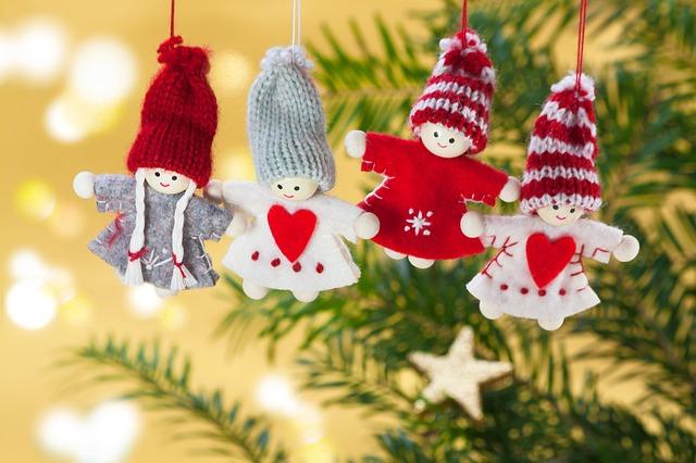 Bonitas tarjetas con dedicatorias de amor de Navidad