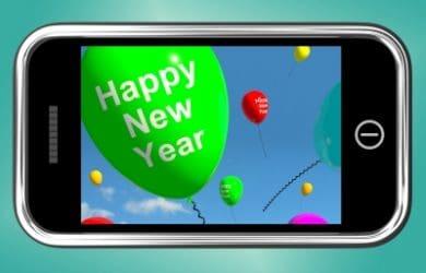 bajar mensajes de Año Nuevo para Facebook, ejemplos de frases de Año Nuevo para Facebook