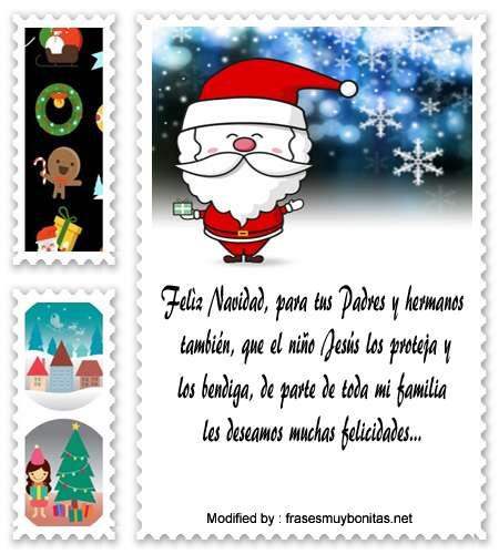 buscar bonitos textos para enviar en Navidad