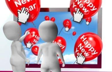 nuevos mensajes de Año Nuevo para Facebook, bonitas frases de Año Nuevo para Facebook