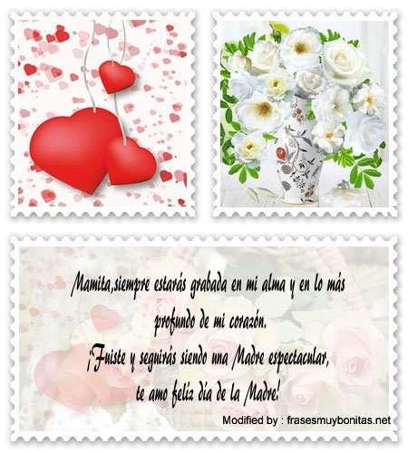 dedicatorias de amor para Madre ausente