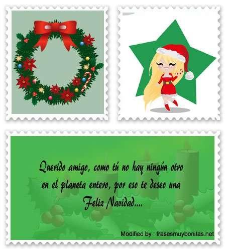 saludos navideños para los amigos