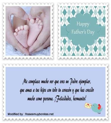 enviar mensajes por el Día del Padre para un hermano