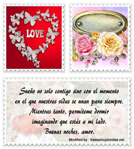 Buscar frases romànticas de hasta mañana para dedicar a mi enamorada por Facebook