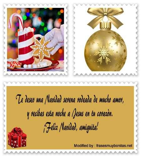tarjetas con mensajes bonitos de Navidad