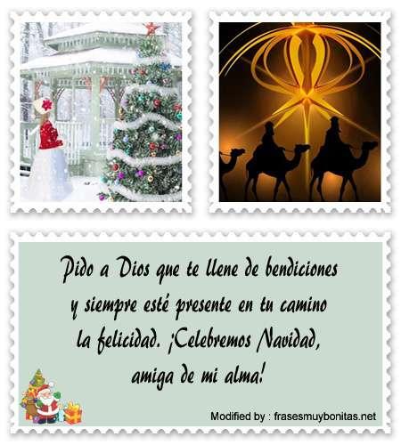 buscar mensajes bonitos de Navidad