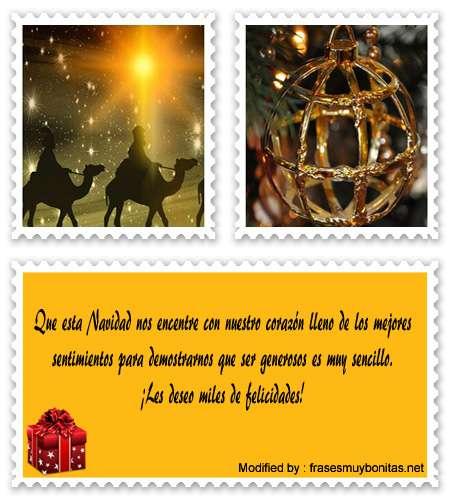 Bonitas tarjetas con pensamientos de Navidad para Facebook
