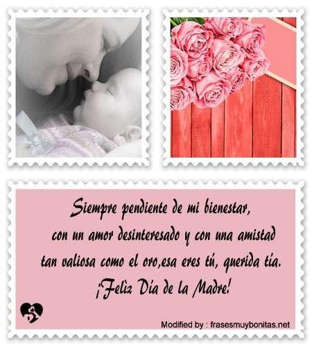 Lindos Mensajes Por El Día De La Madre Para Una Tíaenviar