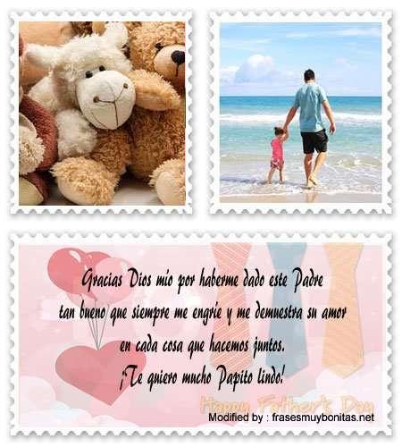 Bellos mensajes para tarjetas del Día del Padre