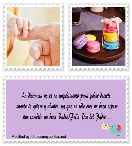 palabras bonitas para Papito