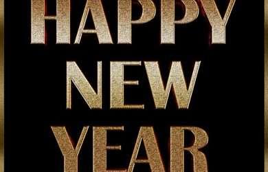 enviar lindas palabras de Año Nuevo