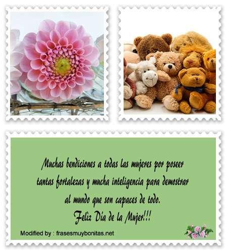 Bonitas tarjetas con frases de amor para el día de la Mujer