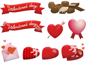 lindas dedicatorias de San Valentín