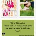 mensajes de amor para San Valentìn