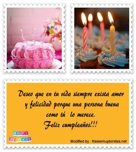tarjetas con saludos feliz cumpleaños para compartir en facebook