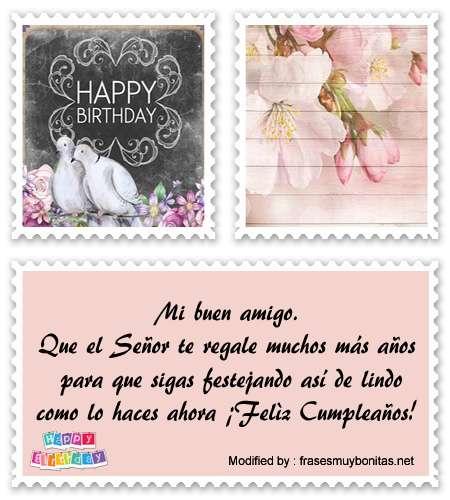 enviar bonitas postales con saludos de cumpleaños para mi amigo