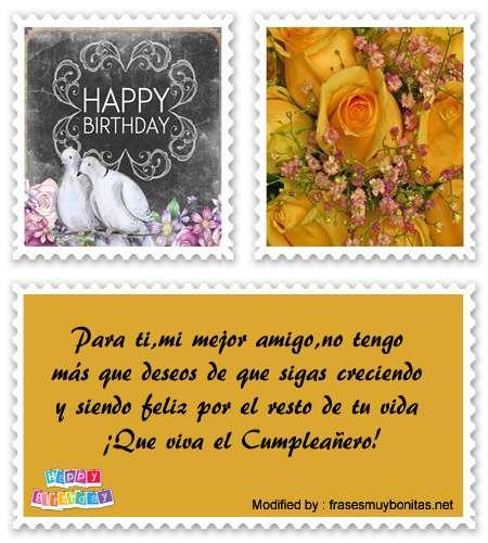 tarjetas con saludos de cumpleaños para mi amigo para whatsapp