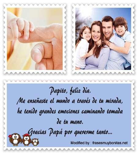 bonitas y originales palabras para el dia del Padre