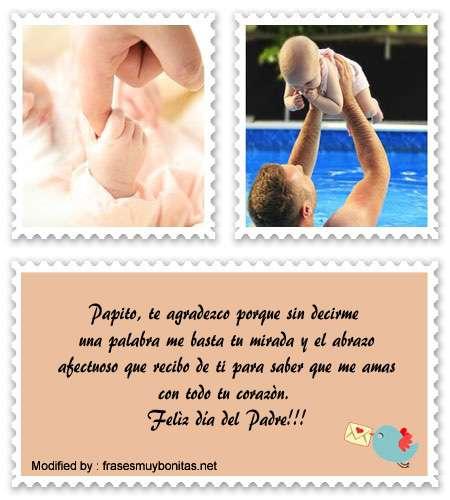 buscar bonitos mensajes para el dia del Padre para facebook