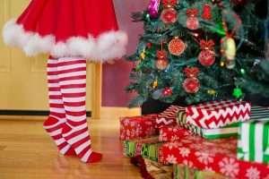 tarjetas con saludos de Navidad para mis padres