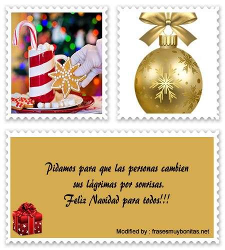 Buscar los mejores mensajes bonitos de Navidad