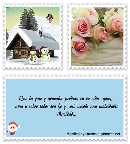 Descargar mensajes bonitos de Navidad para Facebook