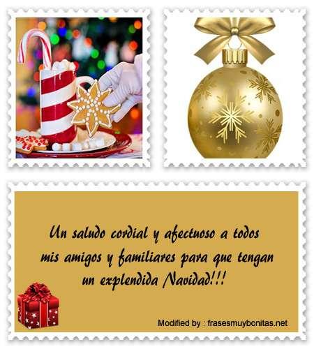 Descargar originales dedicatorias de Navidad