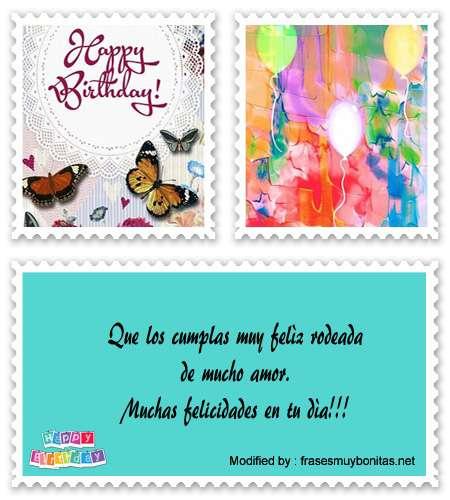 Saludos de feliz cumpleaños para enviar por mòvil