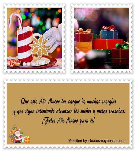 frases para enviar en navidad y año nuevo a amigos