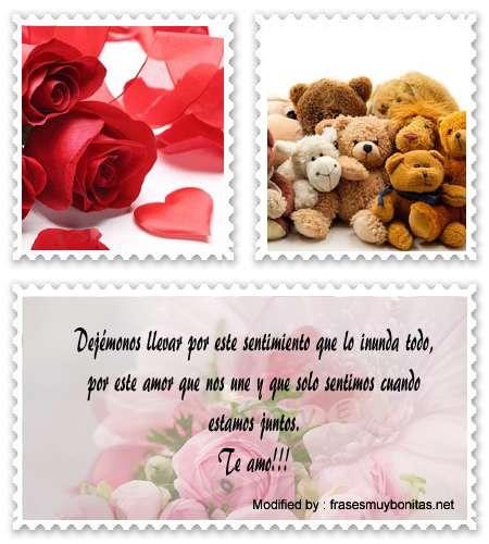 Bajar mensajes hermosos de amor para enviar a mi novia por celular