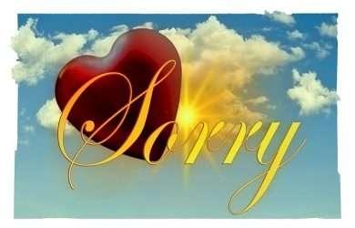 palabras para pedir perdon a mi novio
