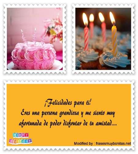 enviar bonitos SMS de feliz cumpleaños