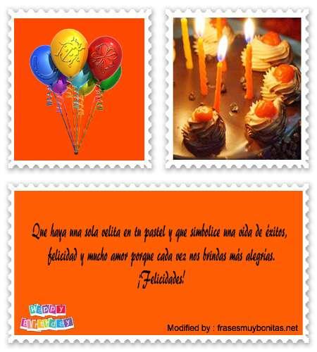 poemas feliz cumpleaños para compartir en Facebook