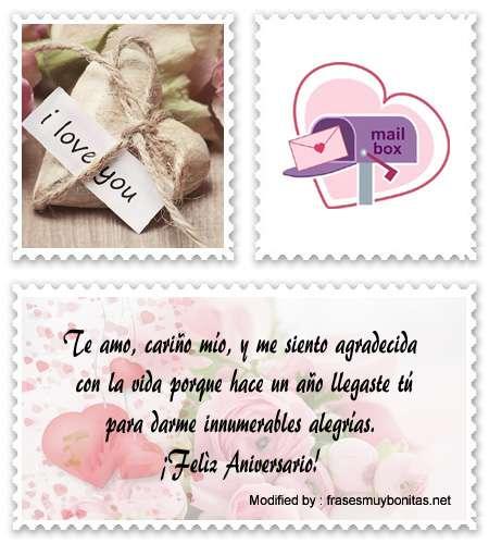 Bellos mensajes romànticos para enamorar a mi novio por aniversario por celular