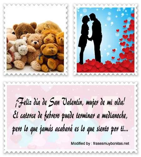 Bonitos poemas y tarjetas de amor para San Valentín para novios