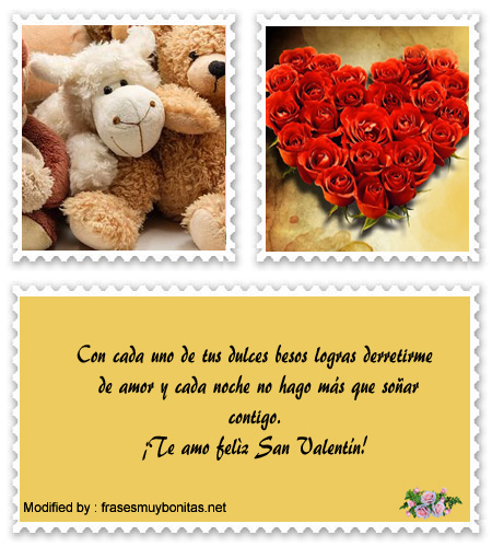 Bonitas frases de amor para por celular en San Valentín
