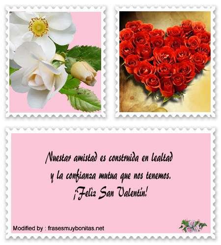 Buscar bonitas palabras por San Valentin para facebook