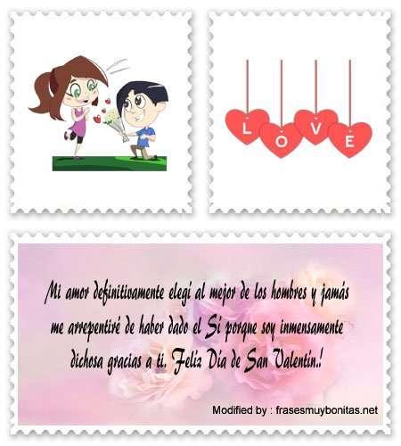buscar textos bonitos de feliz San Valentín para Messenger