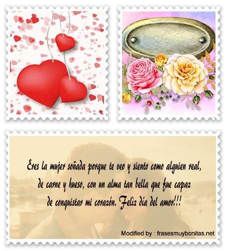 Bonitas palabras románticas para el dia del amor