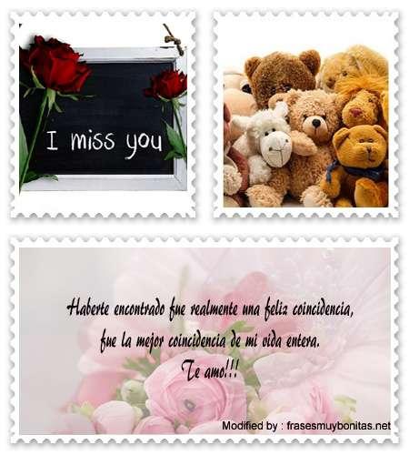 Buscar los mejores mensajes romànticos para novios