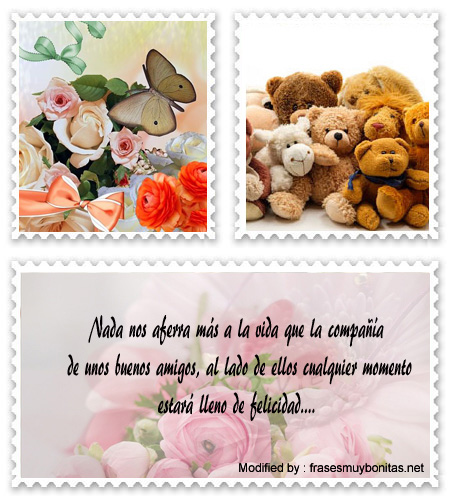 Frases y tarjetas de amistad para compartir por Messenger