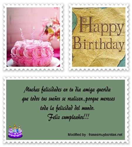 bonitos mensajes de cumpleaños para mi amigo